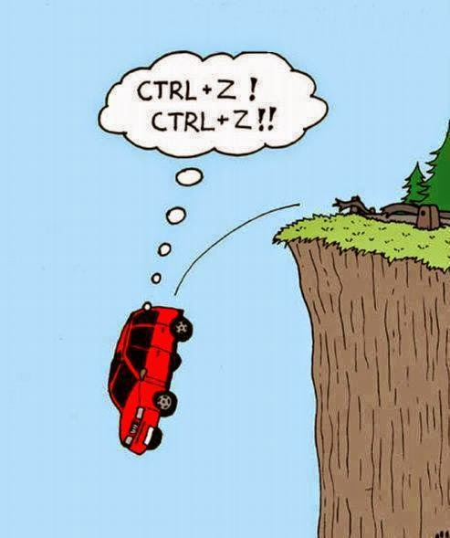 Haven't there been times you wished you could CTRL+Z in real life!